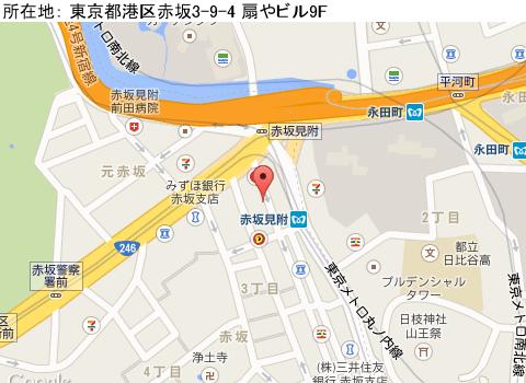 赤坂見附キャバクラ派遣クラブ  ダイアマップ