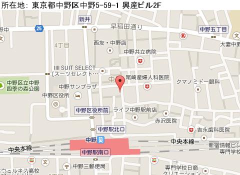 中野キャバクラ派遣オルターフェイトマップ