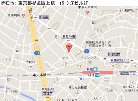 荻窪キャバクラ派遣バツイチパブクラブキャメロットマップ