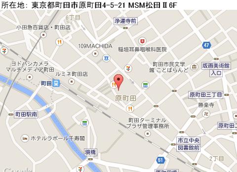 町田キャバクラ派遣アクアアイズマップ