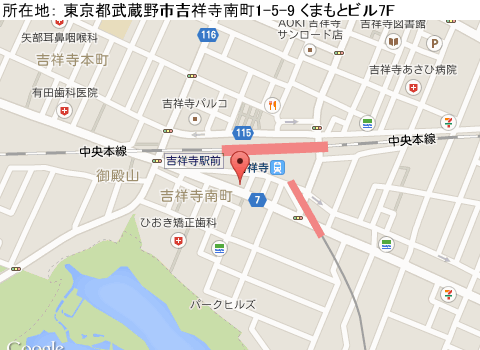 吉祥寺キャバクラ派遣リッツマップ