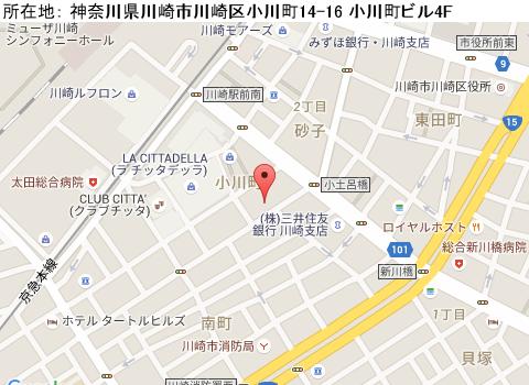 川崎キャバクラ派遣ドレスライン(ティッシュ配り)マップ