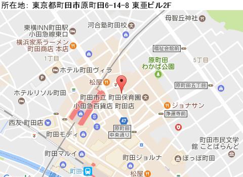 町田キャバクラ派遣ディーボディーバマップ