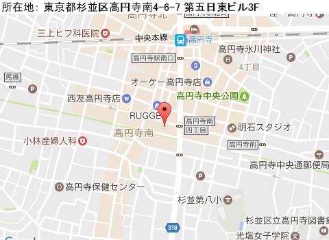 高円寺キャバクラ派遣セシリアマップ