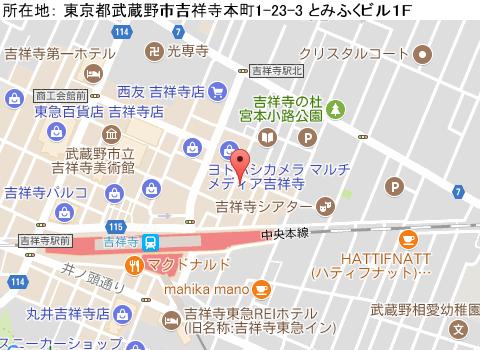 吉祥寺キャバクラ派遣マイティガールマップ
