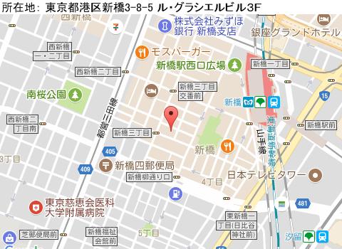 新橋キャバクラ派遣シーコレクションマップ