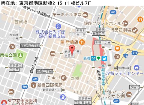 新橋キャバクラ派遣キング&クイーンマップ