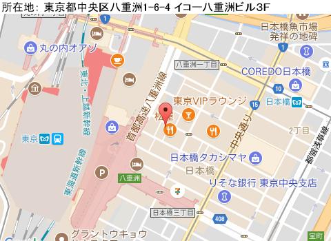 東京駅キャバクラ派遣ムユウジンマップ