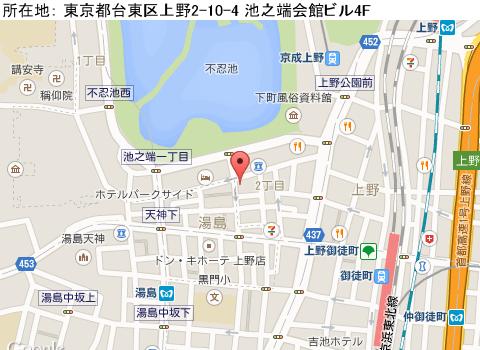 上野キャバクラ派遣ファインマップ