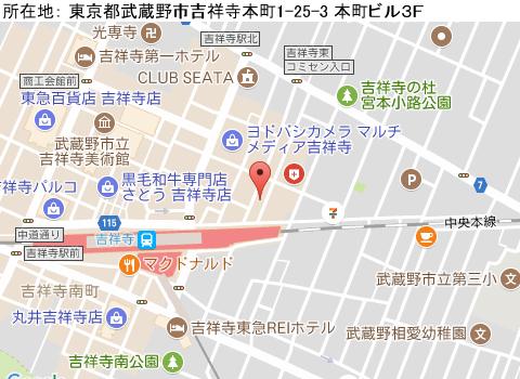 吉祥寺キャバクラ派遣クラブ ルイマップ