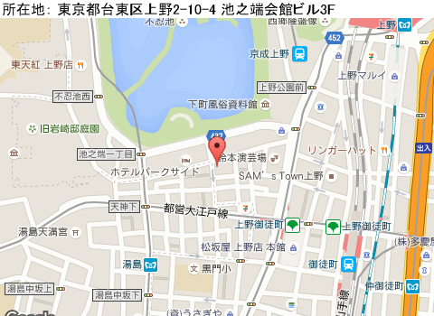 上野キャバクラ派遣クラブゼロマップ