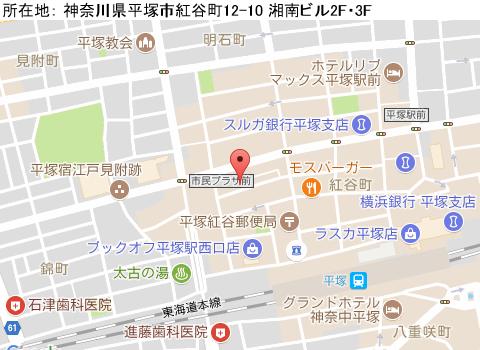 平塚キャバクラ派遣パブ  レッド ホット パイレーツマップ