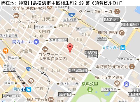 関内キャバクラ派遣クラブアンジュマップ