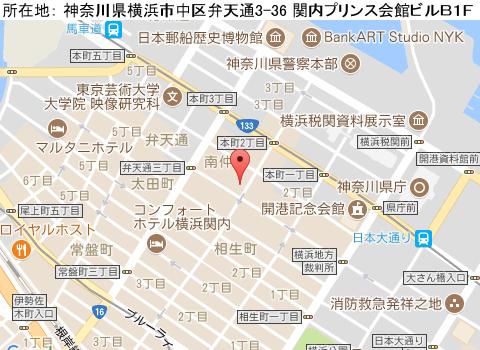 関内キャバクラ派遣カンナイシーサイドマップ