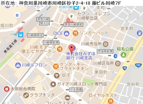川崎キャバクラ派遣ショーガールマップ