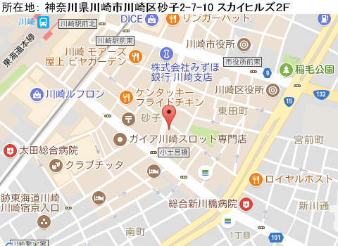 川崎キャバクラ派遣ラレーヌマップ