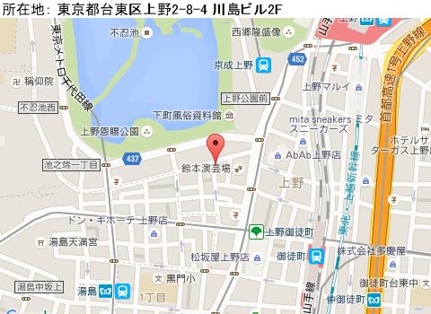 上野キャバクラ派遣クラブキングマップ