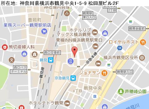 鶴見キャバクラ派遣パブ クラブ ジャスティスマップ