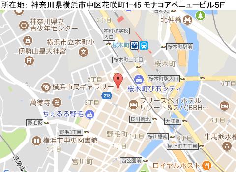 桜木町キャバクラ派遣クラブリエールマップ