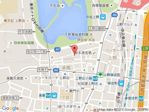 上野キャバクラ派遣アトランティスマップ