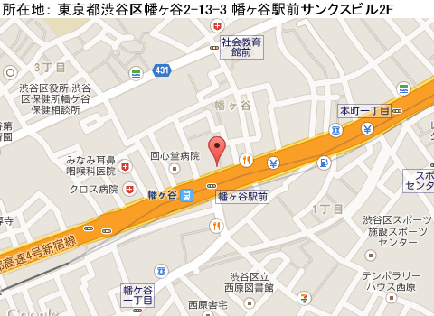 幡ヶ谷キャバクラ派遣クラブリズマップ