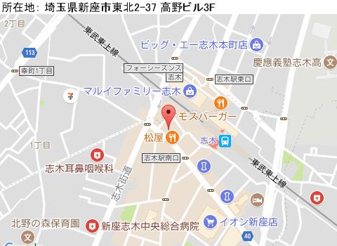 志木キャバクラ派遣プラチナムマップ
