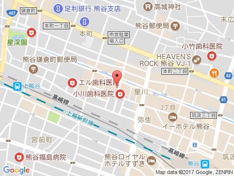 熊谷キャバクラ派遣インフィニティマップ