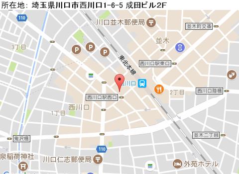 西川口キャバクラ派遣クラブ エーマップ