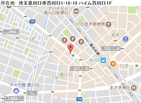 西川口キャバクラ派遣ビクトリアマップ