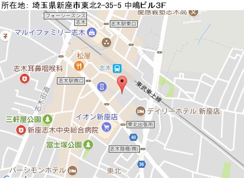 志木キャバクラ派遣クラブ ミダスマップ