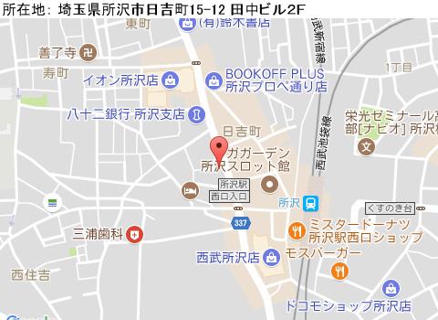 所沢キャバクラ派遣ガイアジャスパーマップ