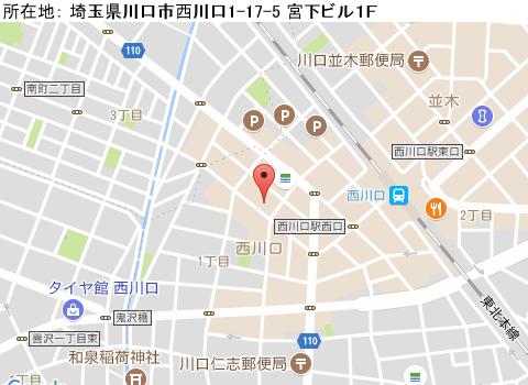 西川口キャバクラ派遣アリアマップ