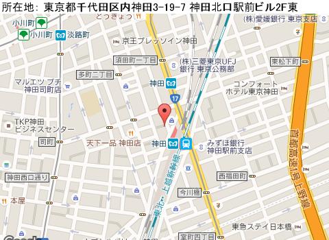 神田キャバクラ派遣クラブ エデンマップ